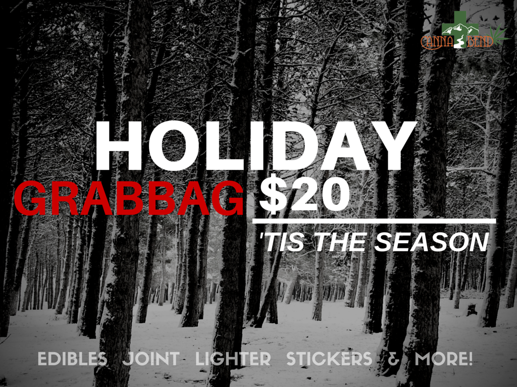 Special Holiday prices on medicinal and recreational marijuana
