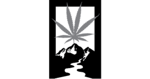 Rectangle Mountain Cannabend Logo B&W210tall