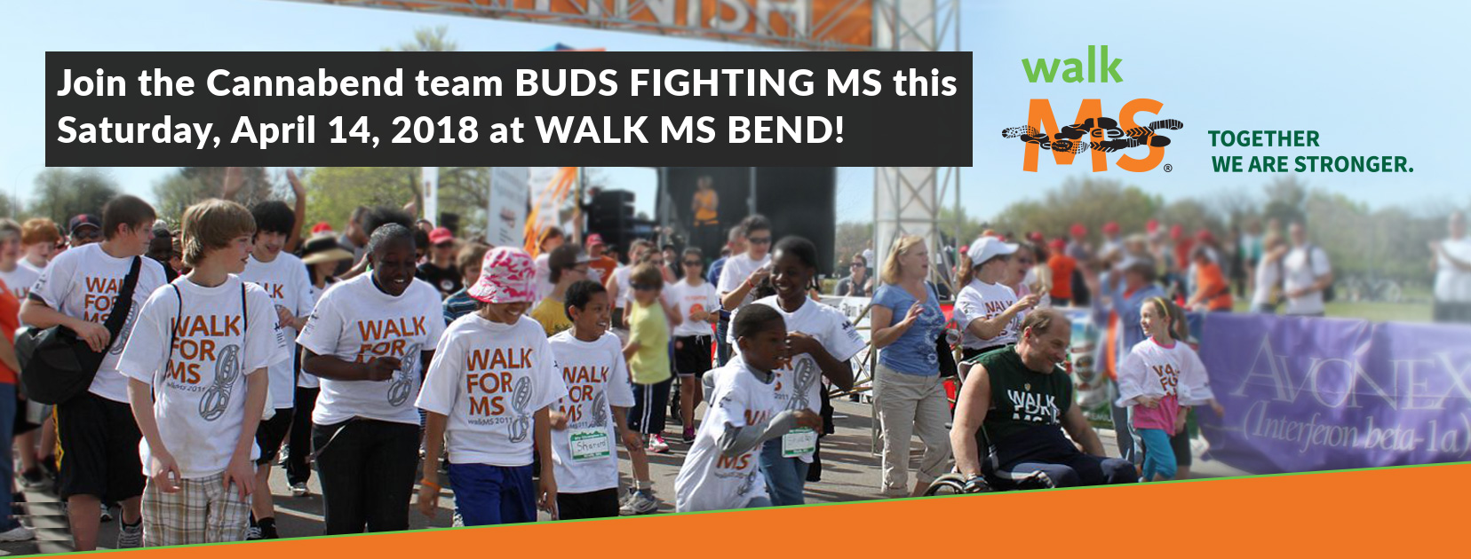 Walk with Cannabend at MS Walk Bend